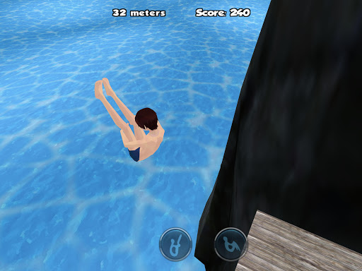 Cliff Diving 3D za darmo