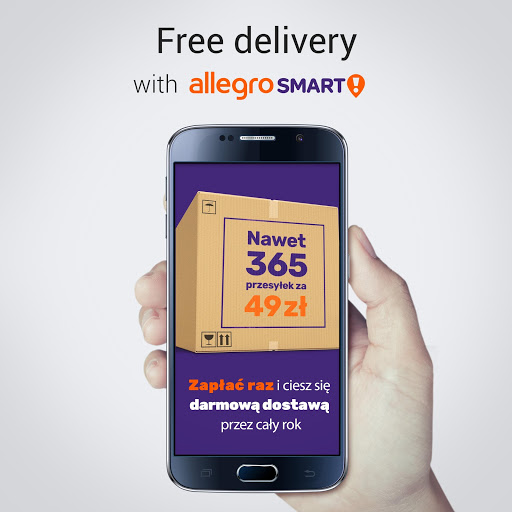 Allegro convenient and secure online shopping Apps on