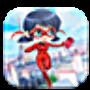 icon super girl ladybug adventure