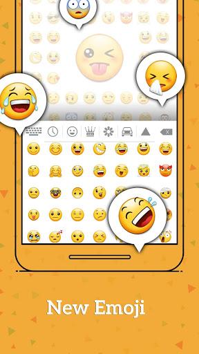 Klawiatura Emoji z systemem Android