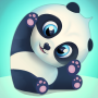 icon Pu - Adorable & happy panda bear, baby animal game