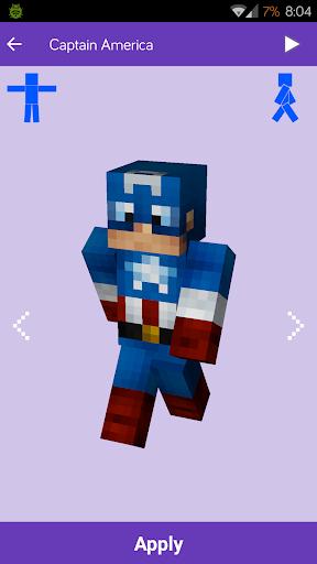 Skórki do gry Minecraft: MineSkins