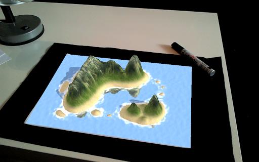 LandscapAR rozszerzona rzeczywistość