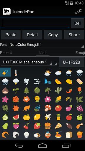 Pad Unicode