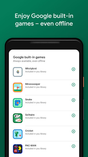 Gry Google Play
