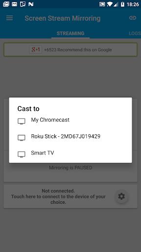 Screen Stream Mirroring Free